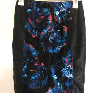 Zara Printed skirt.